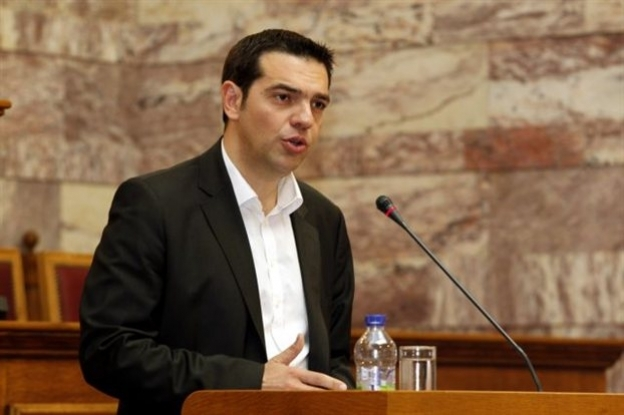 Alexis Tsipras' (SYRIZA) statement about the Estelle